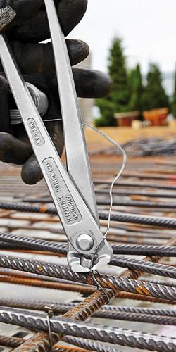 Клещи арматурные особой мощности с высокой передачей усилия KNIPEX 99 14 300