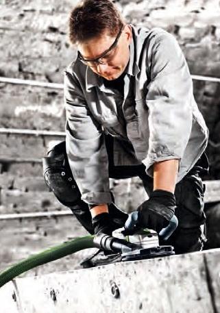 отделочные работы с пылеудалением фестул festool 2014