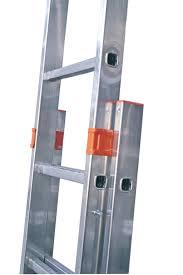 Двухсекционная раздвижная лестница с перекладинами Krause Monto Fabilo