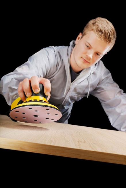 Шлифовальный круг на бумажной основе липучка  Mirka Q.SILVER ACE 150мм 15 отверстий