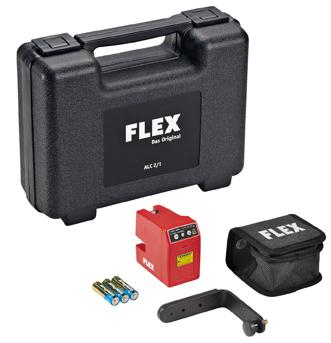 Самонивелирующий крестовидный лазер (Лазерный измеритель, нивелир) FLEX ALC 2/1