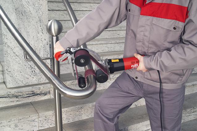 Ленточная машина для шлифования труб «Boa» Flex LRP 1503 VRA
