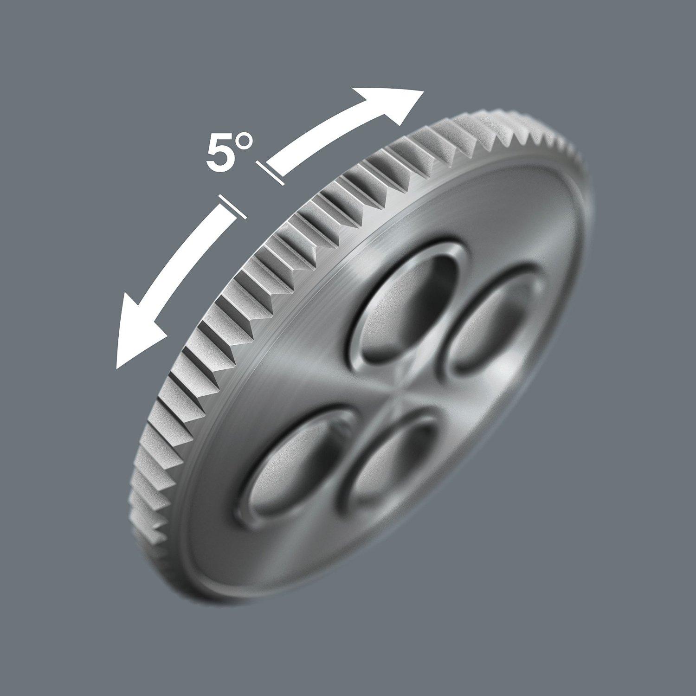 Набор WERA Zyklop Speed с трещоткой, привод ¼