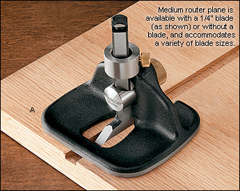 Рубанок-грунтубель Veritas Medium Router Plane Веритас Медиум Роутер План