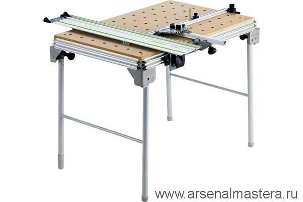 И одним из лучших на наш взгляд решений мобильного и при этом полноценного столярного верстака является рабочий стол Festool MFT-3