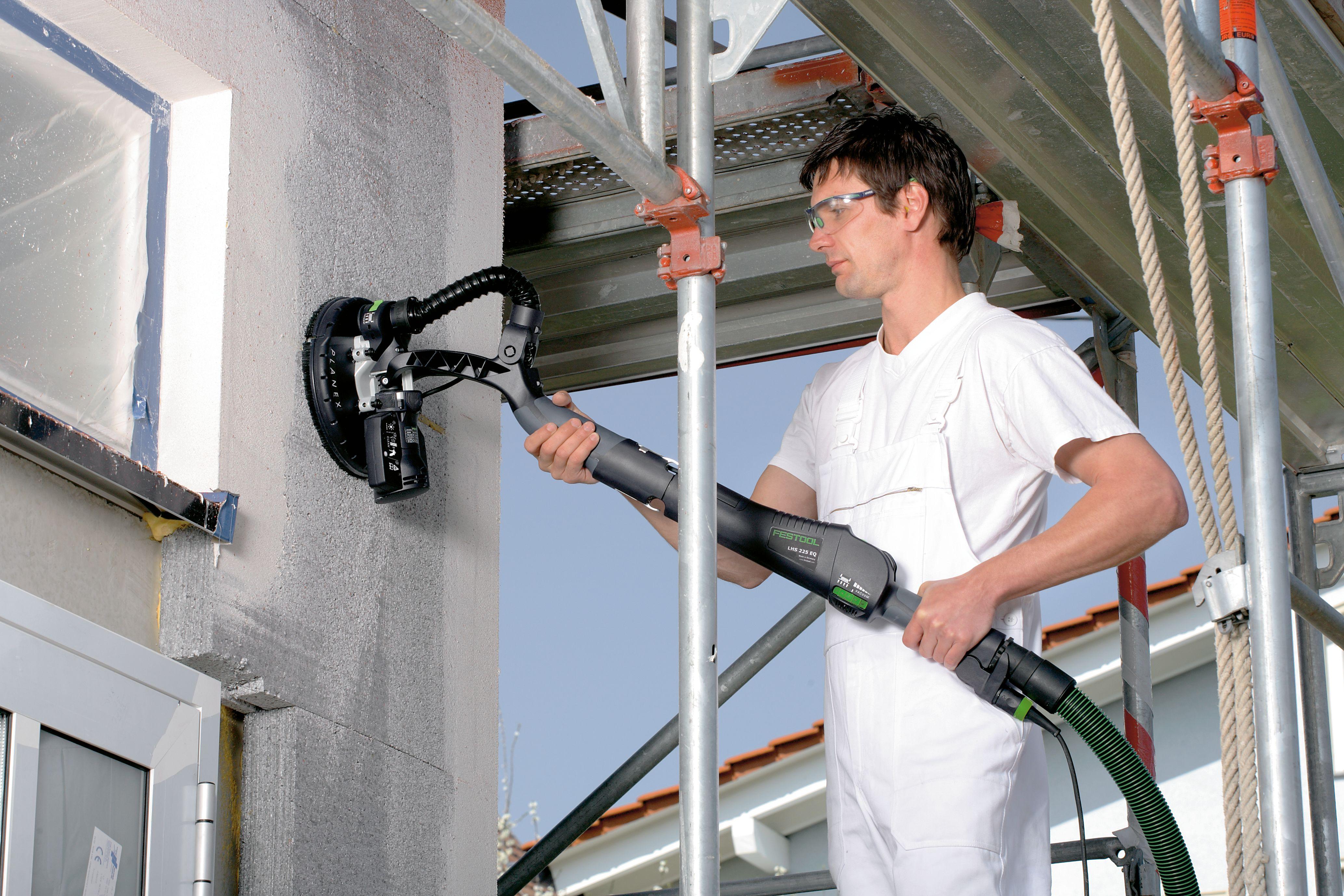 Машинка шлифовальная FESTOOL PLANEX LHS 225 CT 36 Set LHS 225-IP/CTL 36 E AC-Set (Фестул Планекс 225), в комплекте с аппаратом пылеудаляющим и тарелкой IP