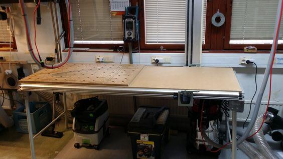 Удлиненная версия стола MFT/3
