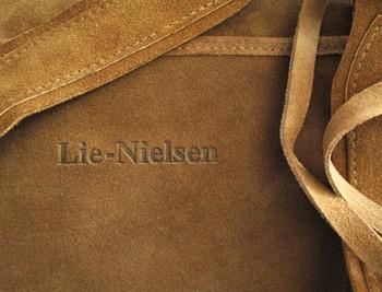 Фартук до колен Lie-Nielsen из высококачественной замшевой кожи
