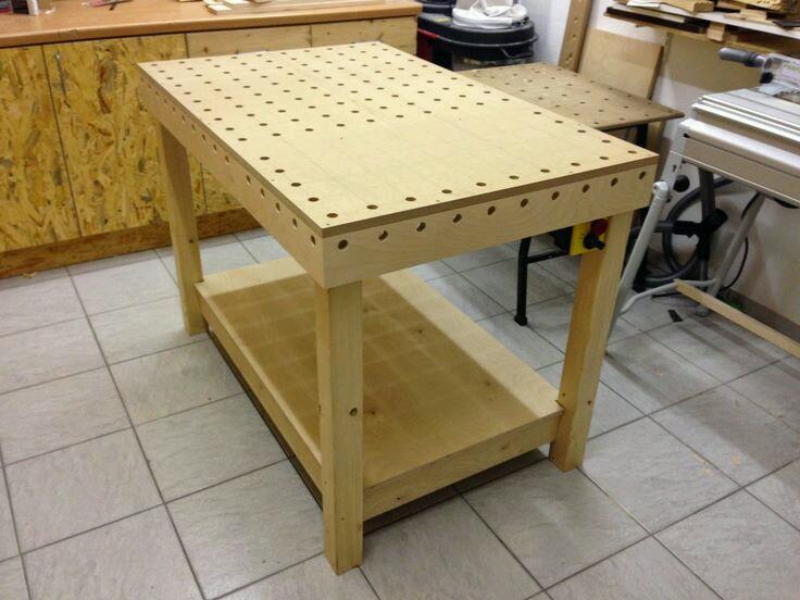 простейший стол MFT