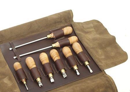 Полный набор отвёрток с прямым шлицом Lie-Nielsen из 8 штук позволяет бережно эксплуатировать практически весь ручной инструмент