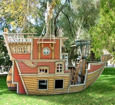 Или старинный корабль