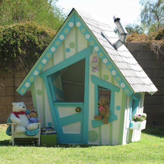Детские игровые домики могут быть абсолютно разными, но все они дарят веселье и радость детям: