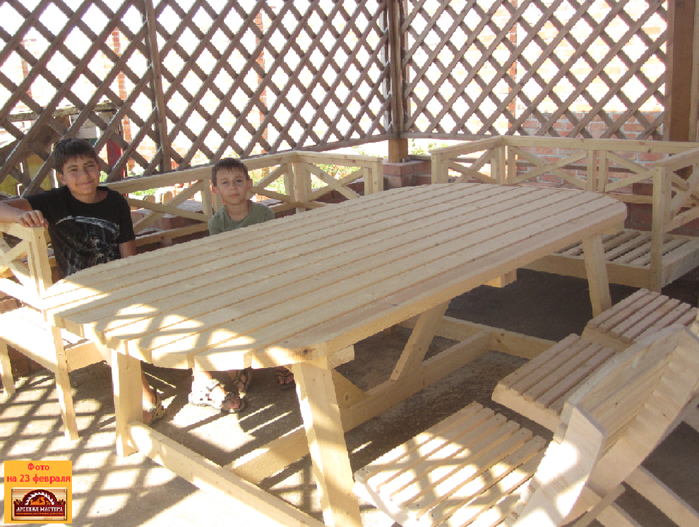 владимир садовый столик и садовая мебель