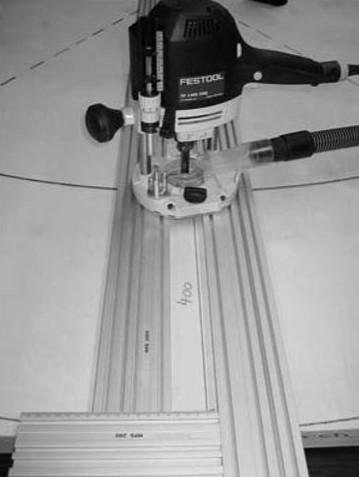 Фрезерование радиусов и  сегментов  при помощи  универсального фрезерного шаблона MFS