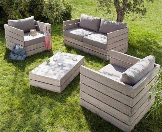 бюджетно садовая мебель