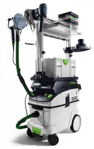 Энергосберегающий комплект Festool Set Elektro (мобильный пост Электро для энергоёмкого шлифования включая ETS 150/3 + ETS 150/5 + CTL 26)