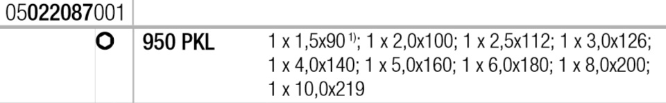 Набор Г-образных ключей WERA 950 PKL/9 SM N 022087