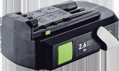 новый аккумулятор 2,6 18