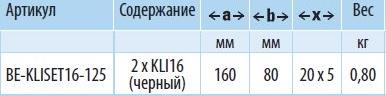 KLISET16-125