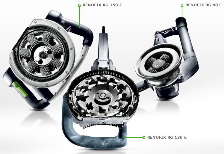 RENOFIX Зачистные фрезеры и алмазные шлифовальные машинки