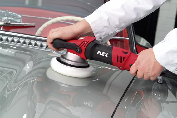 Ротационно-эксцентриковая полировальная машина с приводом принудительного действия Flex XC 3401 VRG (идеальна для удаления голограмм)