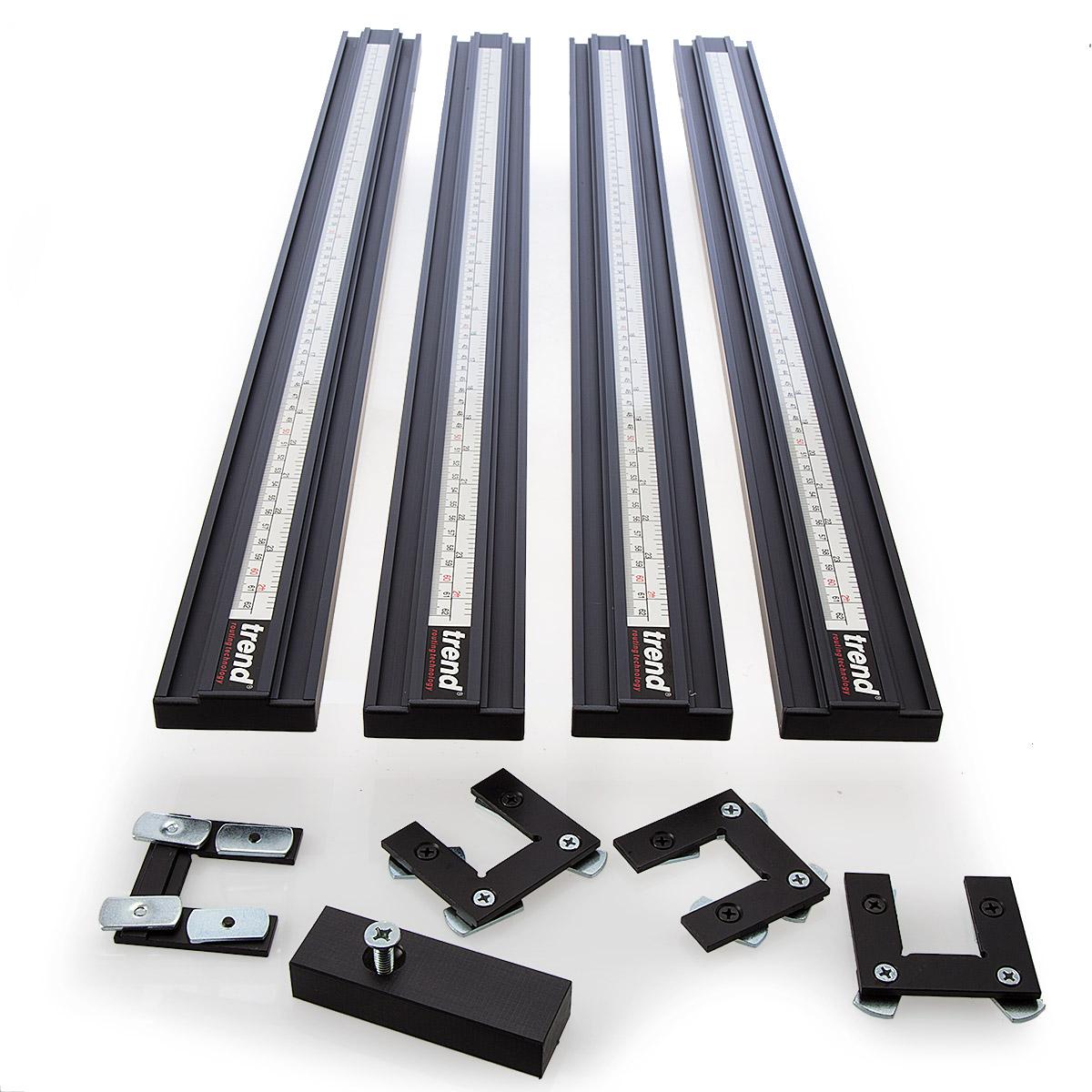 шаблон фрезерный Для фрезерования прямоугольных и квадратных отверстий или плит