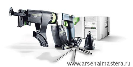 564608 Аккумуляторный шуруповерт для гипсокартона FESTOOL DWC 18-4500 Li-Basic