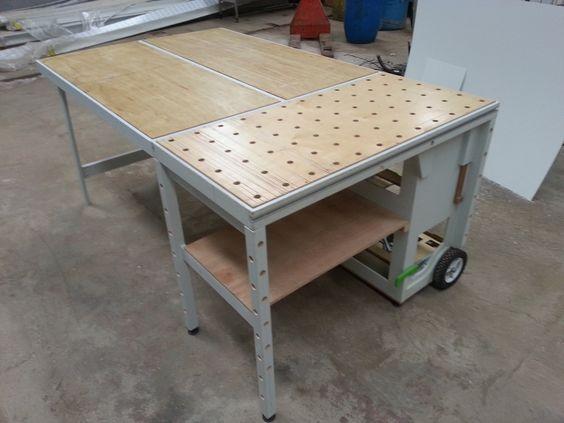 Расширитель стола MFTC с ячеистой структурой