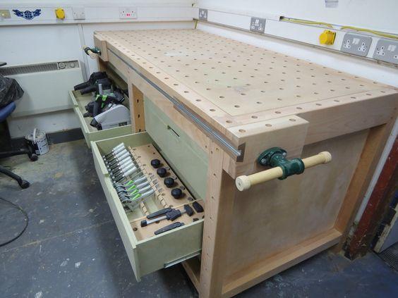 И более сложные варианты рабочих столов