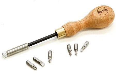  Набор отверточный Elementary N1: длинная рукоять + 6 насадок TF Elementary Screwdriver set 1