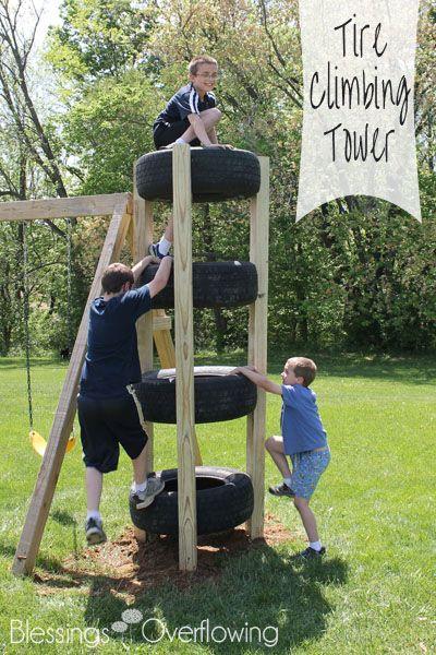 Организуем пространство на даче для детских игр