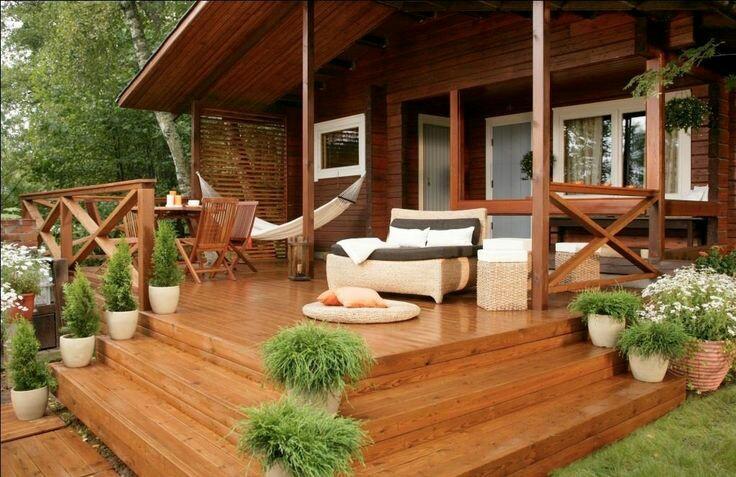 Веранды, террасы и площадки для отдыха