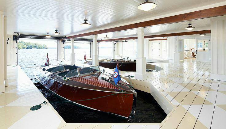 Эллинг для катеров и лодок