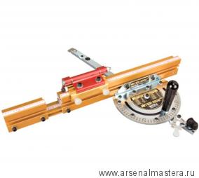 Угловой упор телескопический INCRA (180 фиксированных положений) с ограничителем Flip Shop Stop метрический M-MITER1000HD