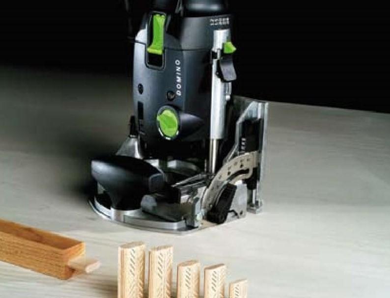 Система соединения деревянных конструкций DOMINO позволяет легко и быстро соединять детали каркасных конструкций