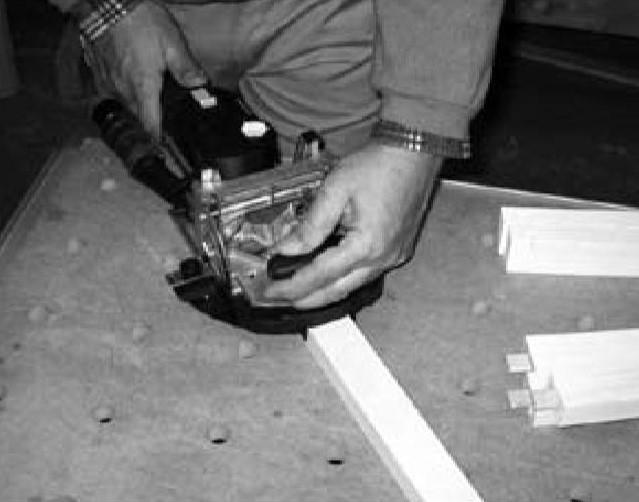 фрезерование пазов с домино 500