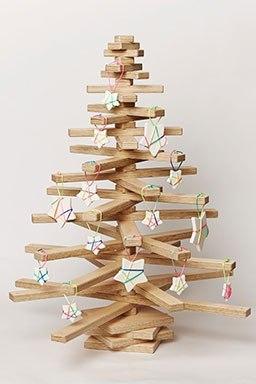 рождественская елка из дерева