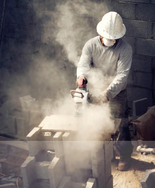 строительная пыль какая бывает