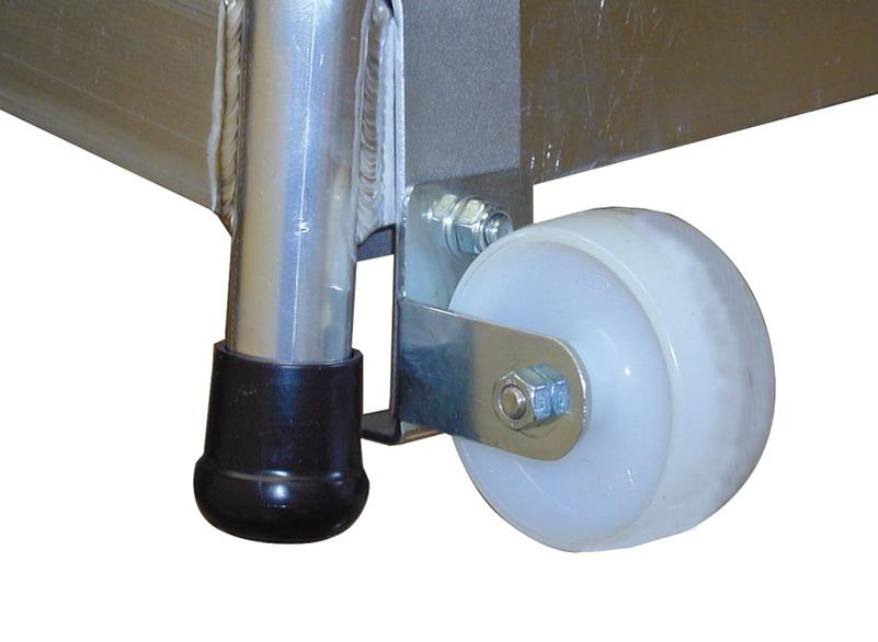 Мобильная (передвижная) алюминиевая монтажная подставка Krause Stabilo