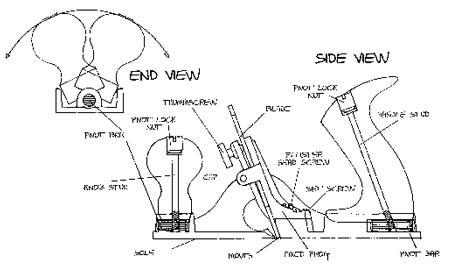 Рубанок циклёвочный Lie-Nielsen N 85