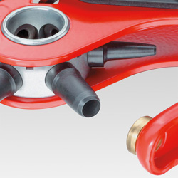 Клещи просечные с револьверной головкой (ДЫРОКОЛ) KNIPEX 90 70 220