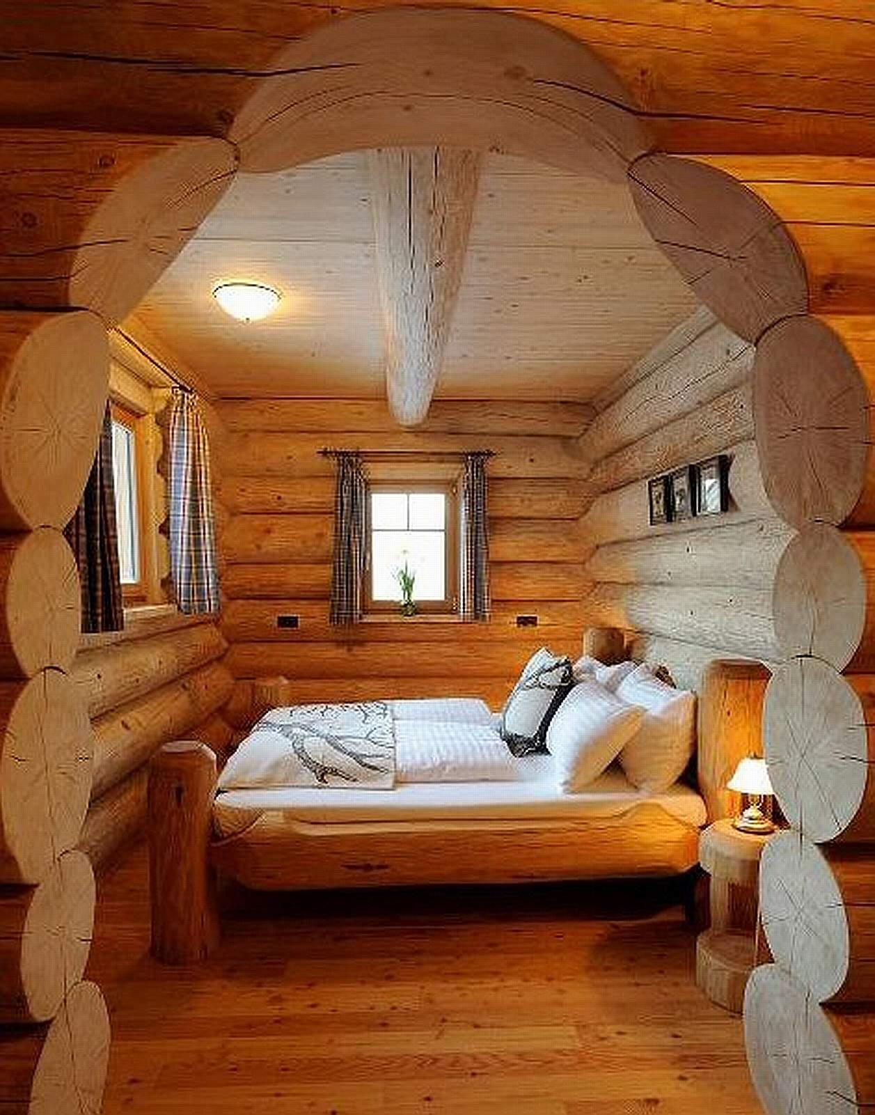 Дома и интерьеры в русском стиле