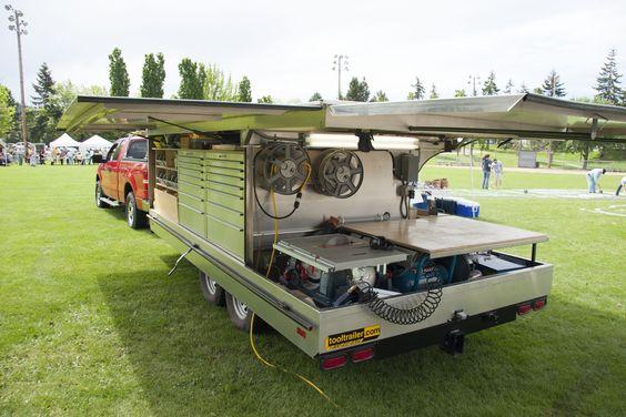 можно переоборудовать свой фургон в мобильную Мастерскую