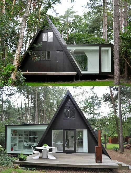Еще красивые варианты мини - домиков