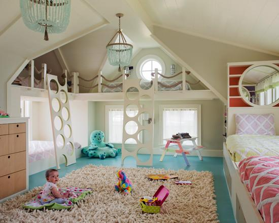 Особо отметим большие возможности для применения нового соединения Festool на балочных конструкциях двухярусных кроватей в детских комнатах