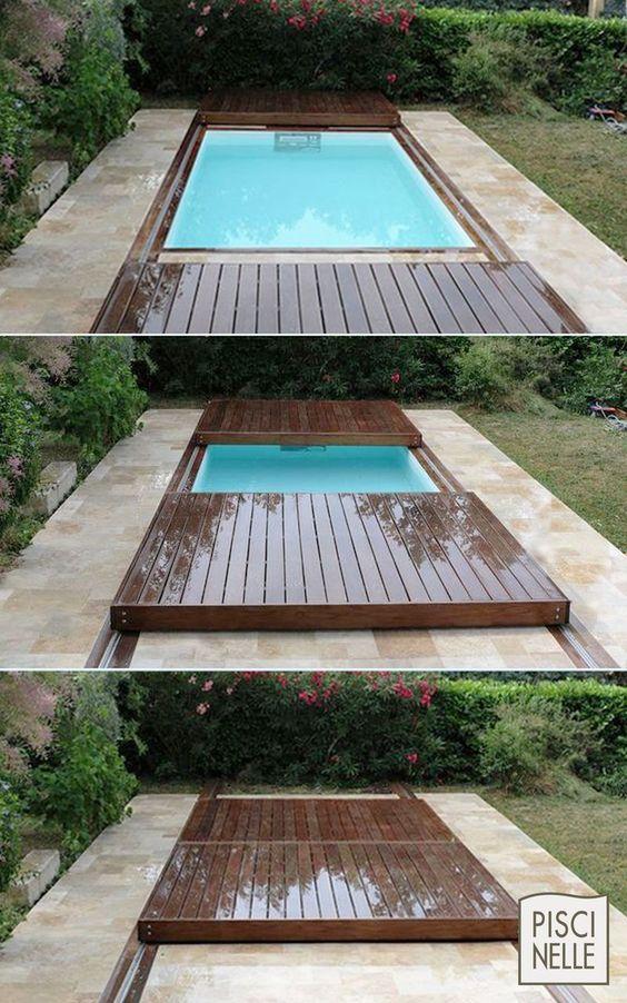 Варианты укрытия летнего бассейна