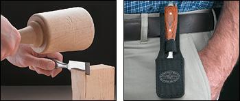 Стамеска с боковой режущей кромкой правая ChestnutTools 09A02.45