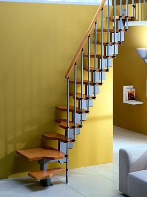 Металлические маршевые виновые лестницы