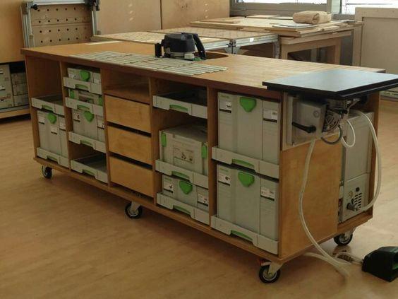 Сборочный стол столяра: расширение функционала для работы с кромкооблицовочной машиной Conturo
