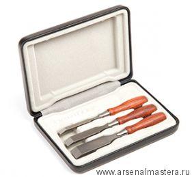 Набор из трёх миниатюрных стамесок Veritas Miniature Chisels PM-V11 05P85.01 М00008840